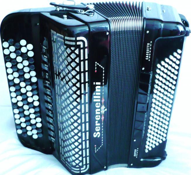 Многотембровый четырехголосный концертный баян (Италия 2013)