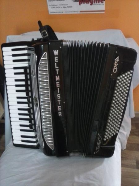 Продаётся аккордеон WELTMEISTER - SUPITA, готово - выборный.