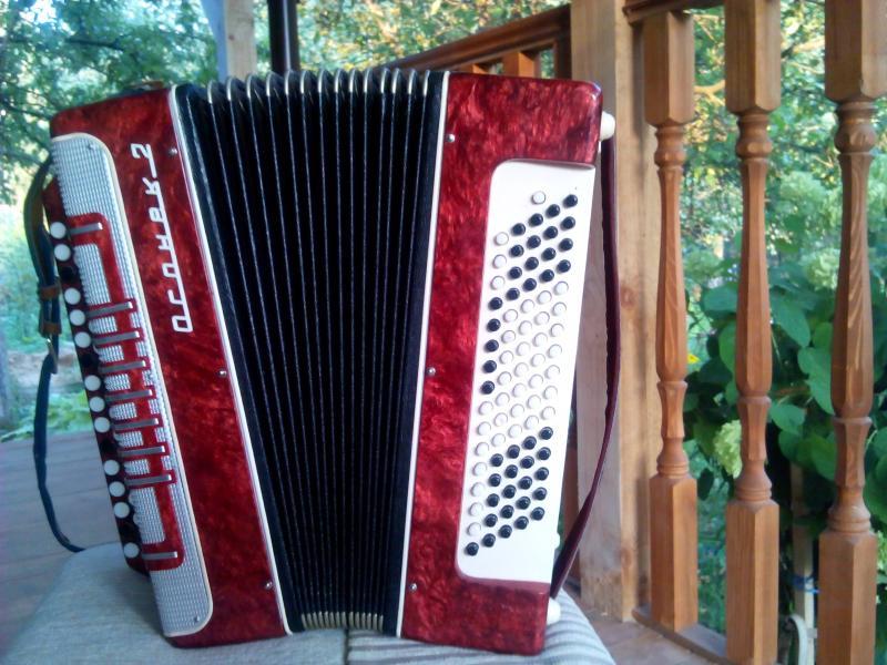Продам баян Огонек-2