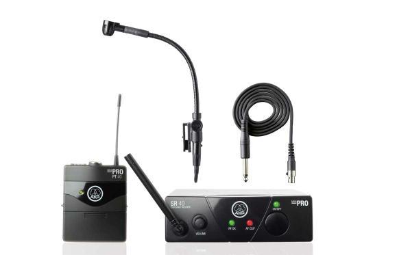 Микрофон и радиосистема для баяна,  аккордеона.