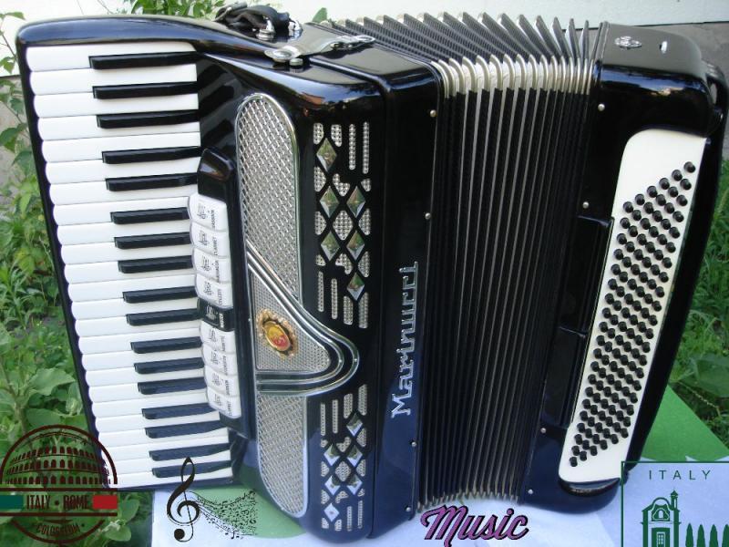 Итальянский аккордеон- Marinucci-850- made in Italy