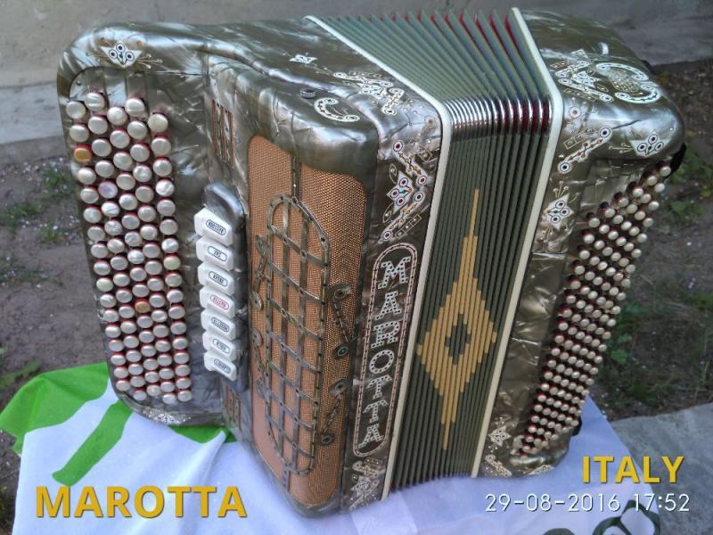 итальянский баян- Marotta