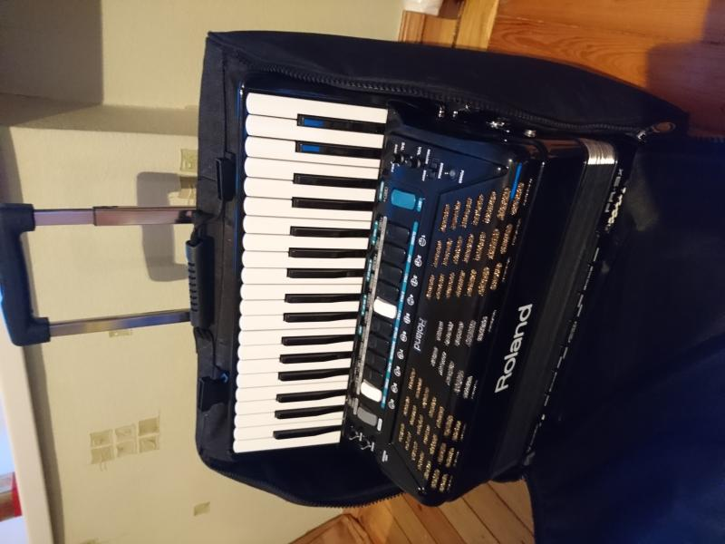 Цифровой аккордеон Roland