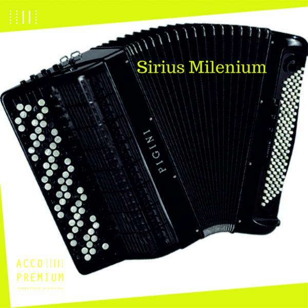 """Баян PIGINI """"Sirius Milenium"""" - готово-выборный"""