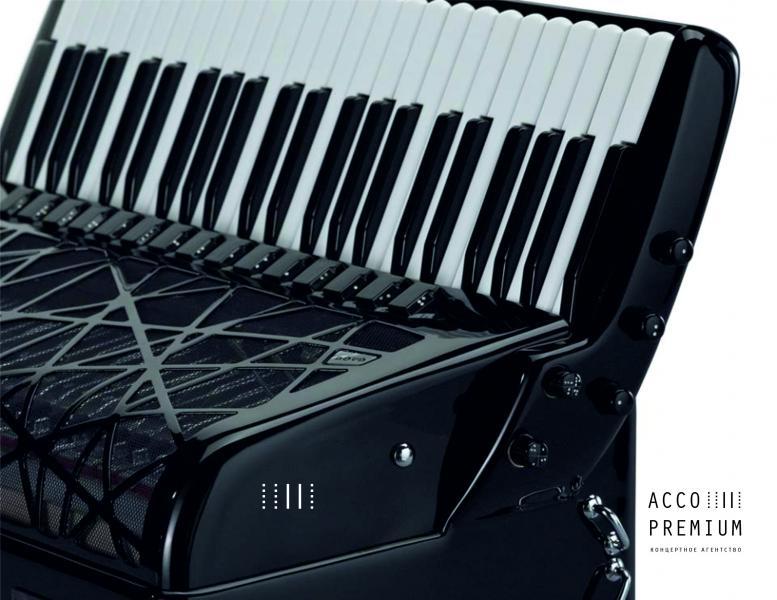 """Аккордеон PIGINI """"Nova Piano """" готово-выборный convertor"""