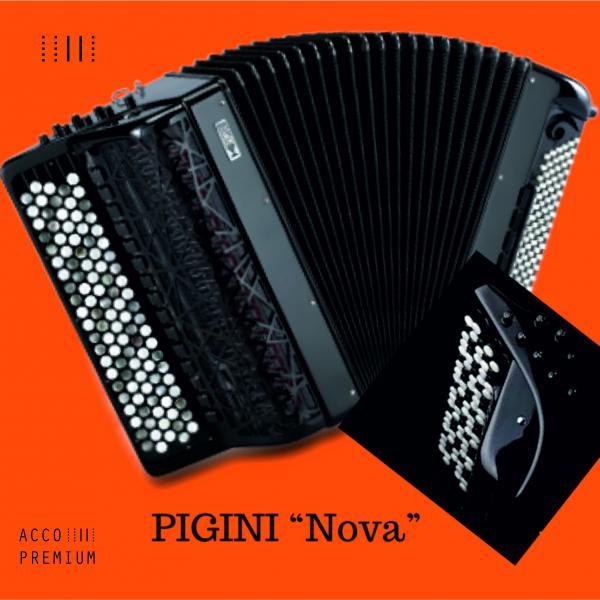 """Баян PIGINI """"Nova"""" - готово-выборный 106/120"""