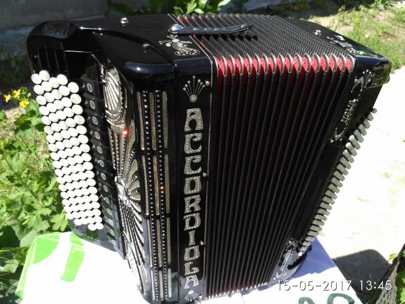 Acсordiola Jazzmaster- итальянский кнопочный аккордеон- баян.
