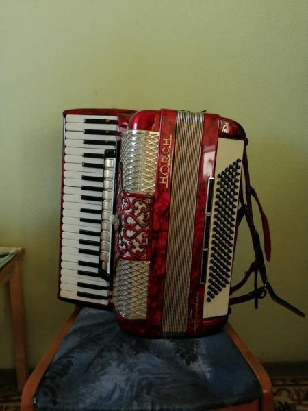 Немецкий аккордеон Horch Superior